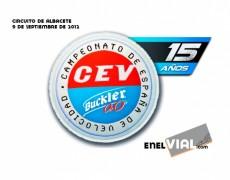 CEV 2012. Albacete, 9 de septiembre de 2012