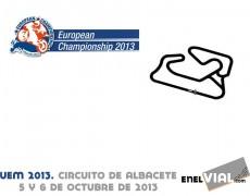 Cto. Europa de Velocidad 2013. Albacete, 6 de octubre de 2013