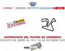 Cto. del Mundo de Superbikes. Jerez, 20 de octubre de 2013