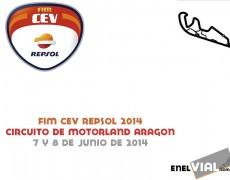 FIM CEV Repsol 2014. Motorland Aragón