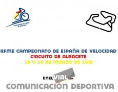 RFME Campeonato de España de Velocidad 2015. Albacete