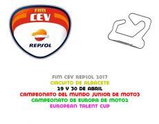 FIM CEV 2017. Albacete, 29 y 30 de abril
