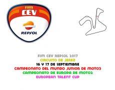 FIM CEV 2017. Jerez, 16 y 17 de septiembre