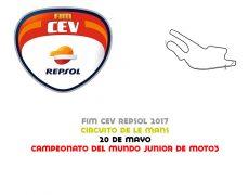 FIM CEV 2017. Le Mans, 20 de mayo
