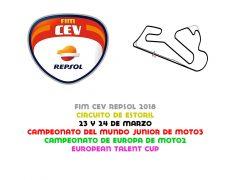 FIM CEV 2018. Estoril, 24 y 25 de marzo