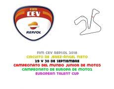 FIM CEV 2018. Jerez, 29 y 30 de septiembre