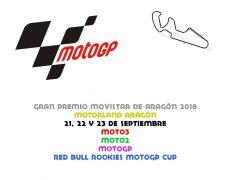 GP Aragón 2018. MotorLand Aragón, 21, 22 y 23 de septiembre